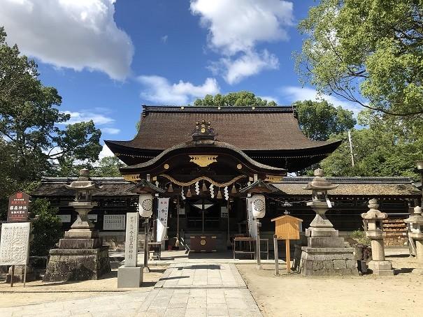 万馬券がゲットできる「藤森神社」