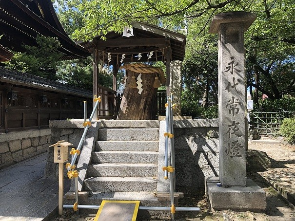 藤森神社 旗塚