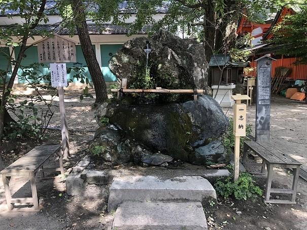 藤森神社 不二名水
