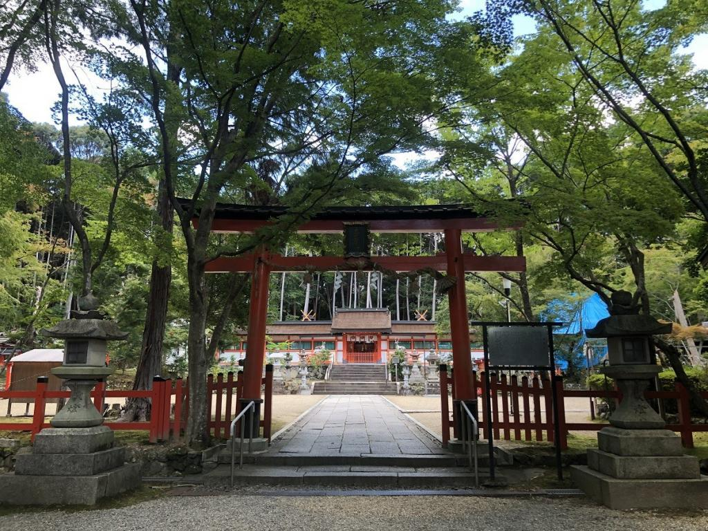 大原野神社三の鳥居