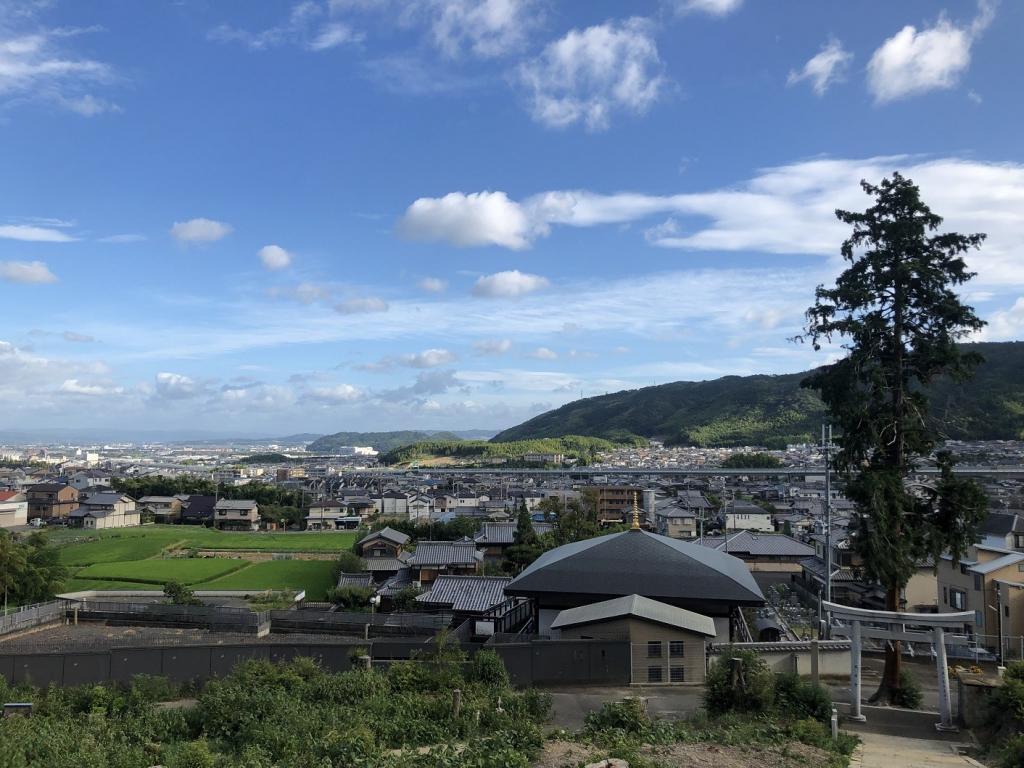 走田神社景色
