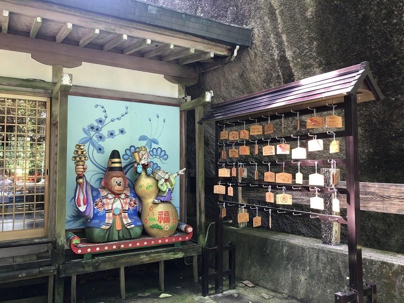 磐船神社 絵馬掛け所