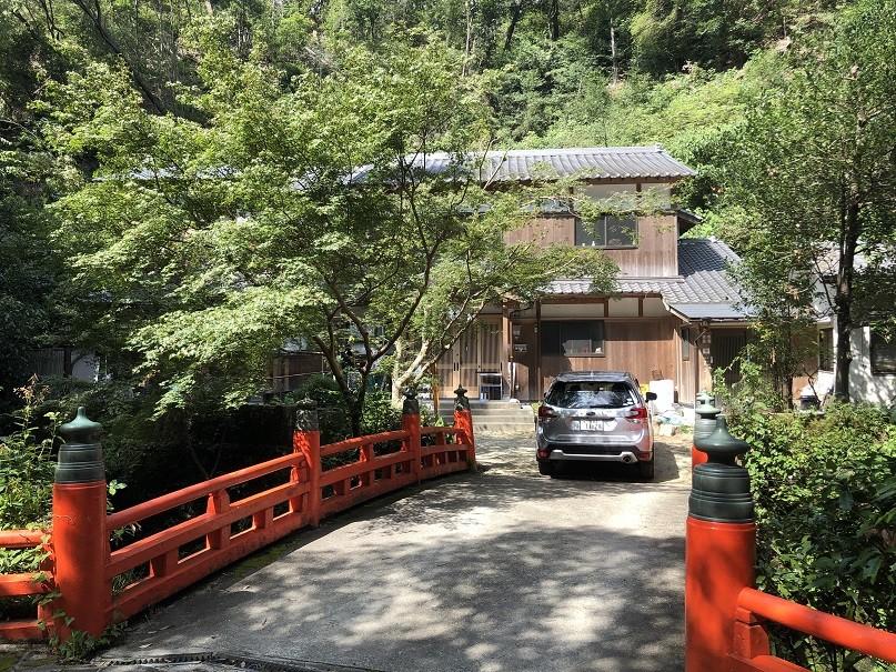 磐船神社 社務所