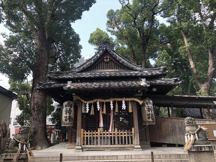 高瀬神社 本殿