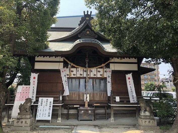 鼻川神社 本殿
