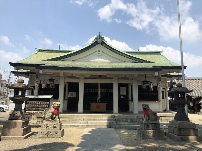 野里住吉神社 拝殿