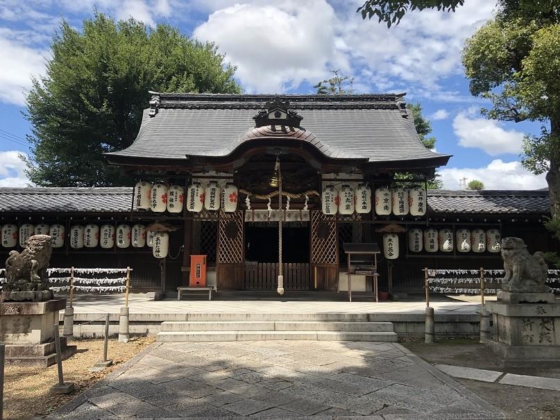 縣神社拝殿