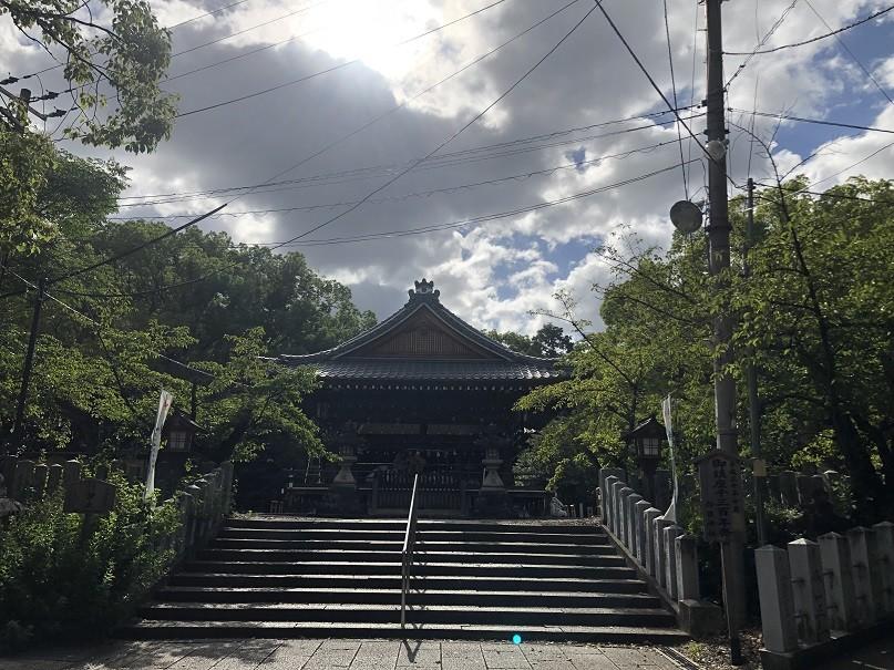 向日神社 舞楽殿