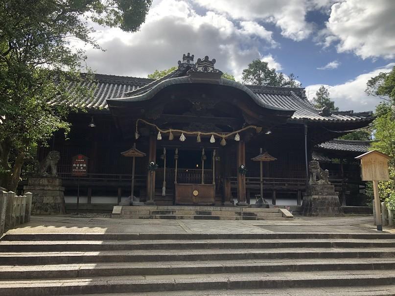 向日神社 拝殿&本殿