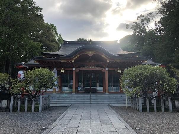 長岡天満宮 社殿