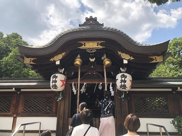 清明神社 本殿