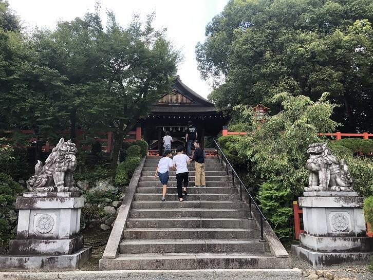建勲神社 狛犬