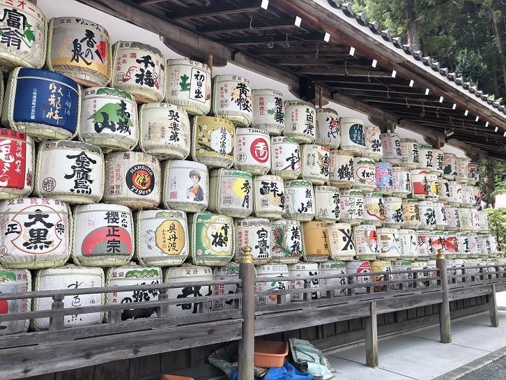 松尾大社 神輿庫