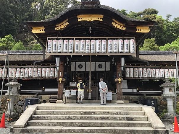 松尾大社 中門・本殿