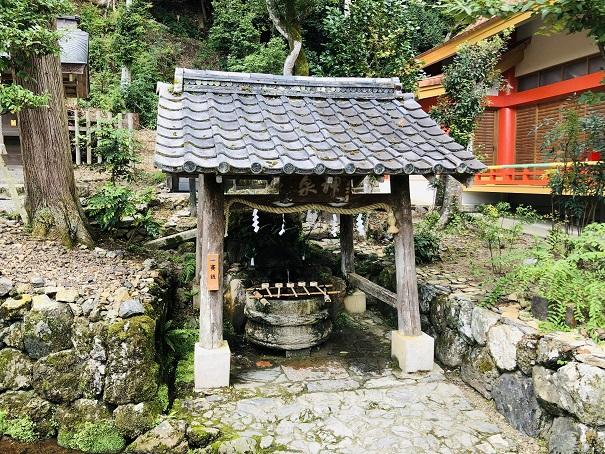 松尾大社「霊泉亀の井」