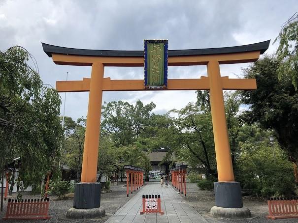 平野神社 大鳥居
