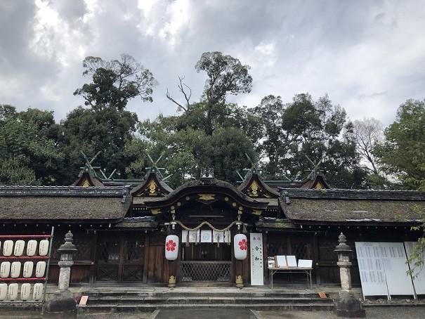 平野神社 中門