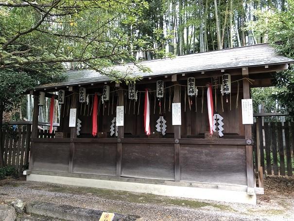 平野神社 四社