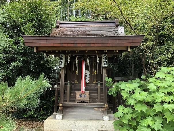 平野神社 八幡社