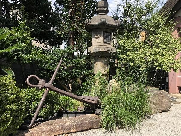 大将軍八神社 イカリ