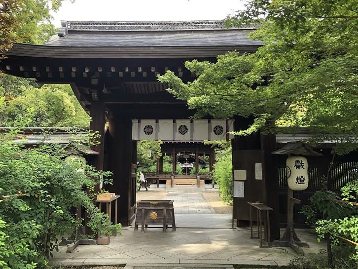 梨木神社 神門