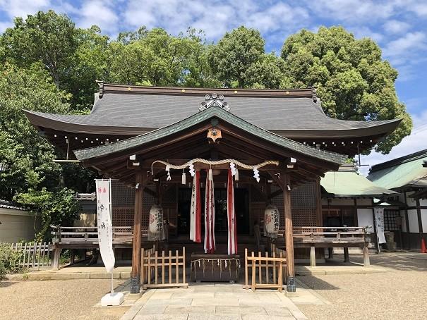 三輪恵比須神社 拝殿&本殿