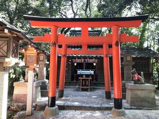 成願稲荷神社(末社)