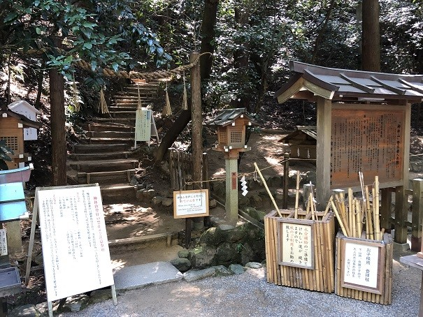 不思議スポット三輪山登拝は摂社の狭井神社の境内から