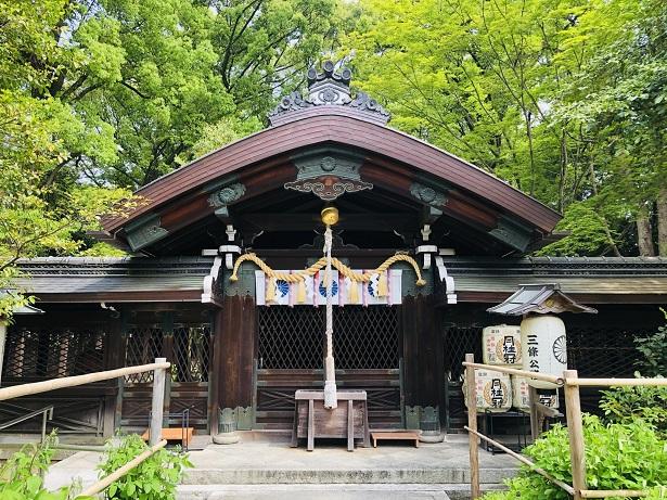 梨木神社 社殿
