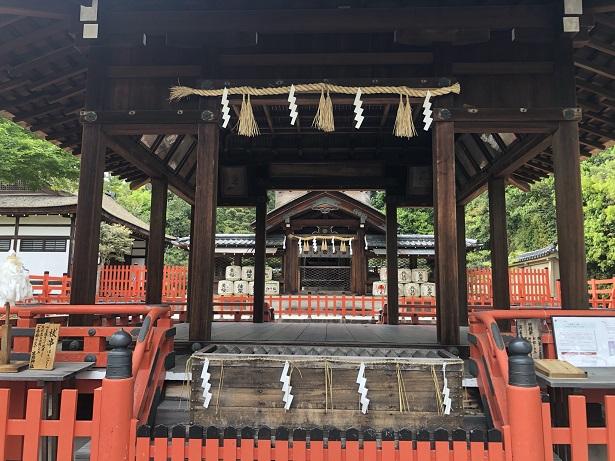 国の登録文化財の拝殿・本殿 建勲神社