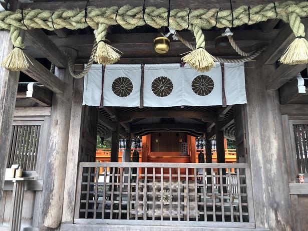 出雲大神宮の拝殿&本殿