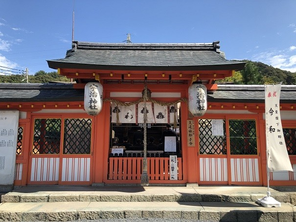 宇治神社 中門