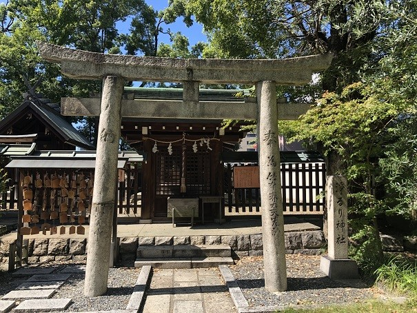 生國魂神社 浄瑠璃神社