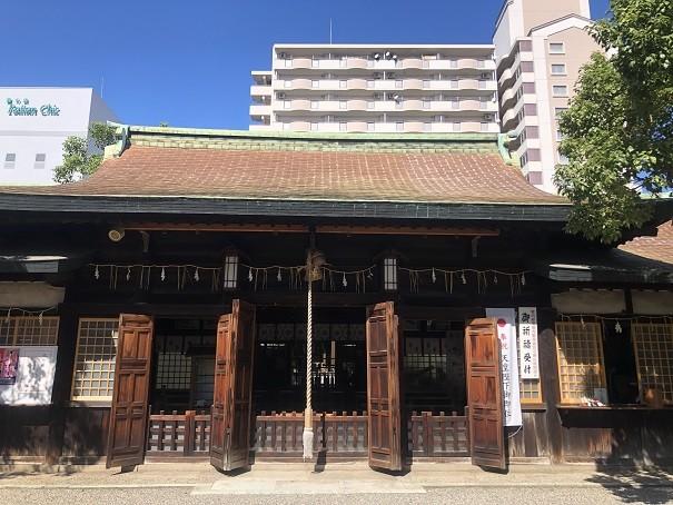 廣田神社 拝殿