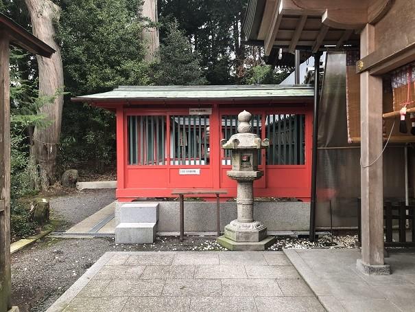稗田野神社 石燈籠