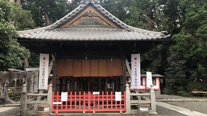 稗田野神社 拝殿