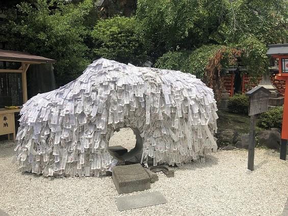 悪縁切り良縁結び「安井金比羅宮」(京都市東山区)