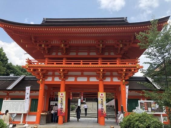 葵祭が行われる世界遺産の「上賀茂神社」