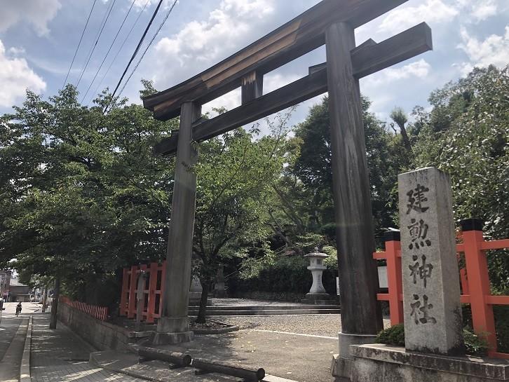 戦国武将の織田信長が祀られている「建勲神社」
