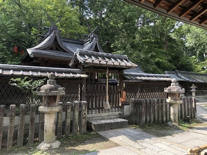 今宮神社の境内社「若宮社」(京都市北区)