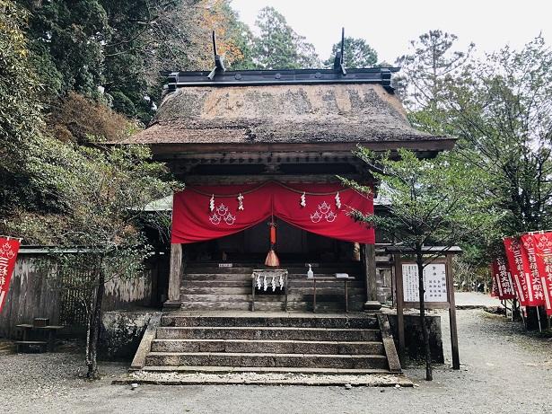 三柱神社(摂社) 玉置神社