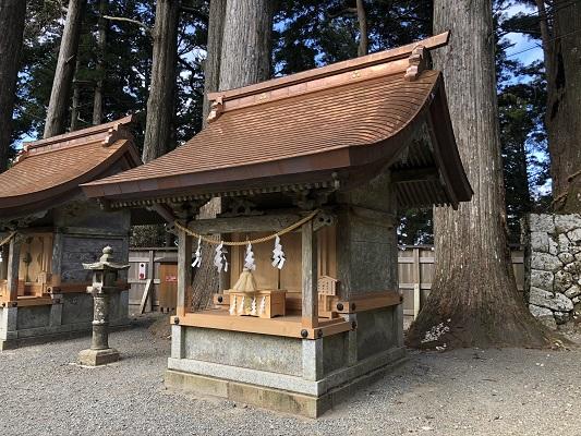 玉置神社若宮社(末社)
