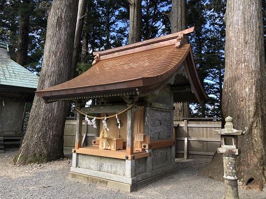 玉置神社神武社(末社)