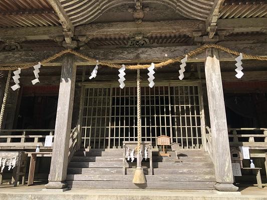 玉置神社 社殿