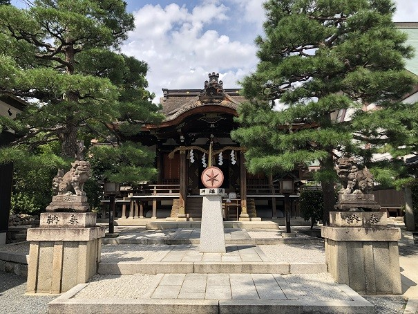 厄除け・方除けのパワースポット「大将軍八神社」