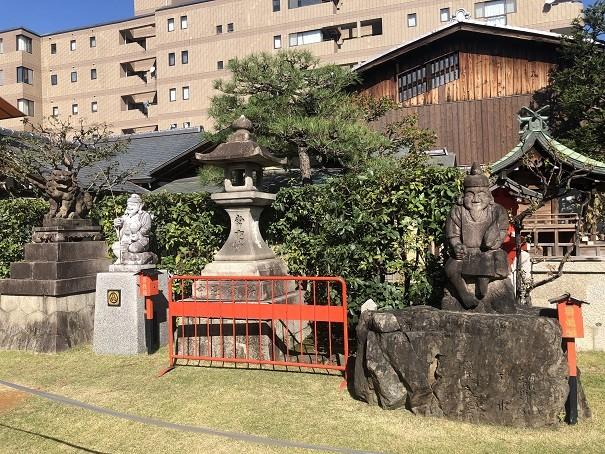 商売繁盛の象徴「えびす像」 京都ゑびす神社