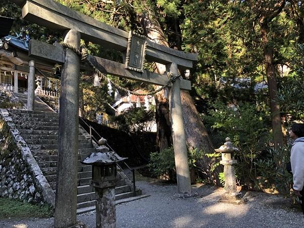 玉置神社 二の鳥居