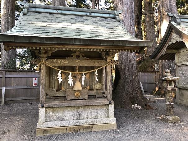 玉置神社 神武社