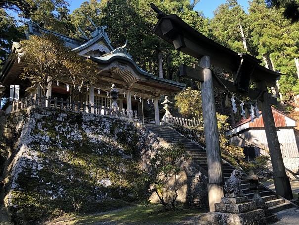玉置神社 パワーみなぎる本殿