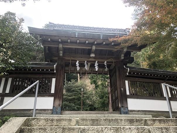 月読神社 神門